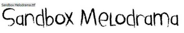 001455-sandbox-melodrama-font-_-dafont-com-google-chrome