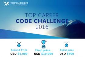 TOP CAREER CODE CHALLENGE 2016
