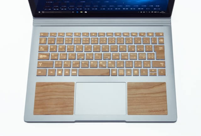 THE KEYTOP SKIN for Microsoft Surface Book