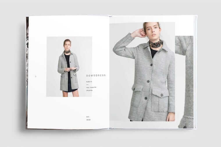 あなたのブランド デザインを紹介するのに最適なルックブック8選 商品