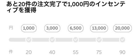 DiDi配達員・配達パートナーのクエスト報酬【インセンティブ】