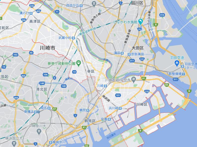川崎(神奈川)のフードパンダ配達エリア・対応地域限定クーポンコード