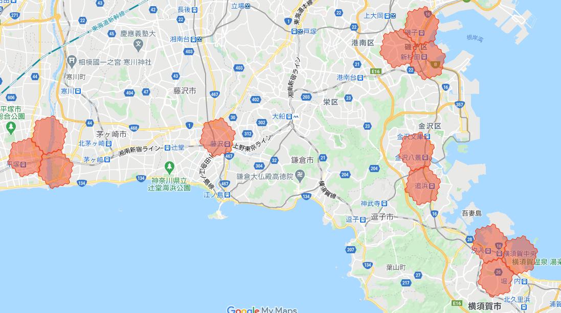 menu川崎・神奈川の配達範囲拡大エリア詳細【2021年3月8日】