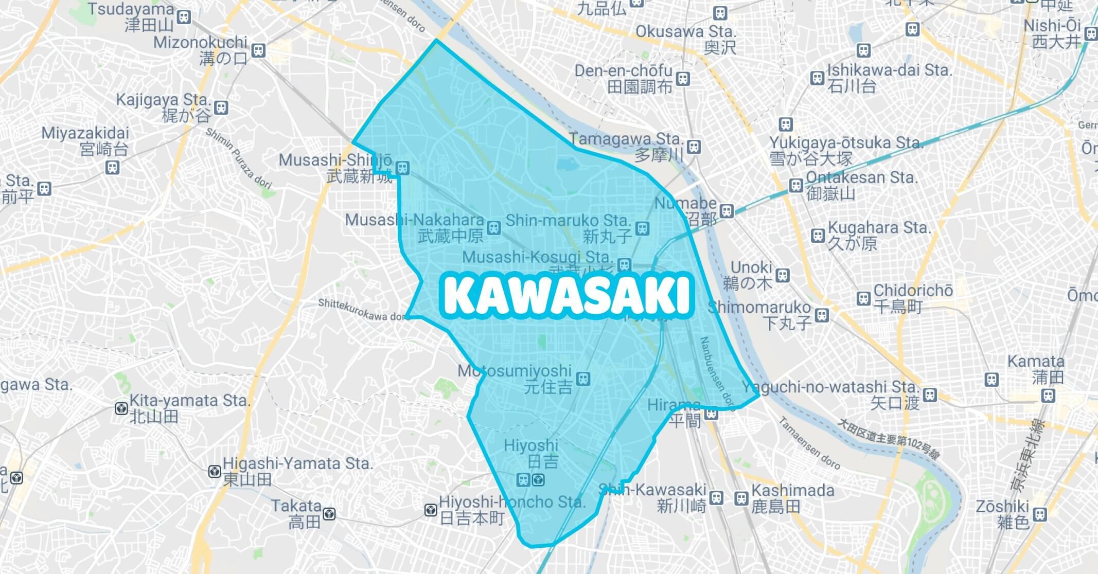 Wolt(ウォルト)川崎(神奈川)のエリアとクーポン・プロモコード・キャンペーン