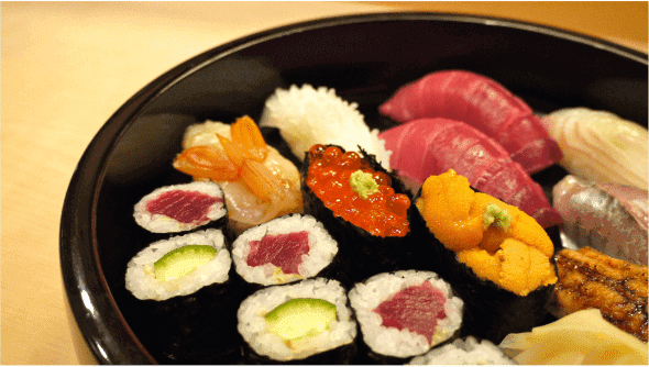 menuクーポン・キャンペーン【1人前から注文可能・本格お寿司特集】