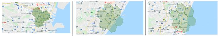 menu(メニュー)三重県の配達エリアマップ