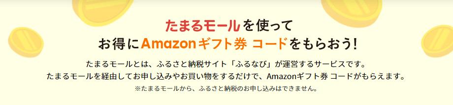 セカオピのキャンペーン【20000円分のAmazonギフト券コードが貰えるキャンペーン・たまるモールからの申し込み】