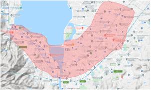 Uber Eats(ウーバーイーツ)の滋賀県対応エリアとクーポンコード