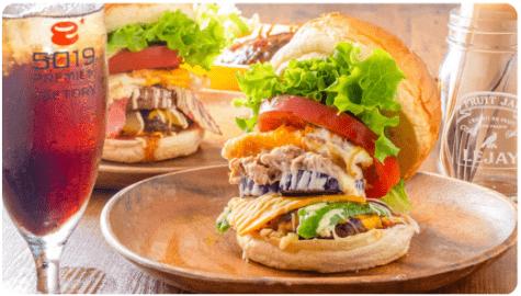menu(メニュー)高知のおすすめ店舗・ハンバーガー料理