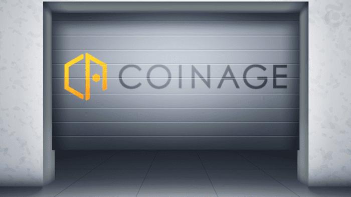 COINAGE(コイネージ)暗号資産交換業から撤退
